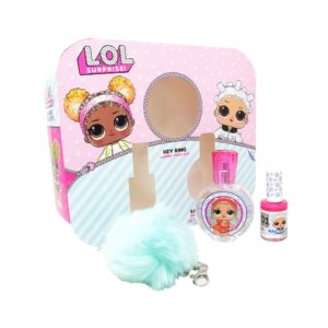 Z4 SET LOL SURPRISE 3PZS 30ML EDT SPRAY/ ESMALTE DE UÑAS 10ML/ LLAVERO