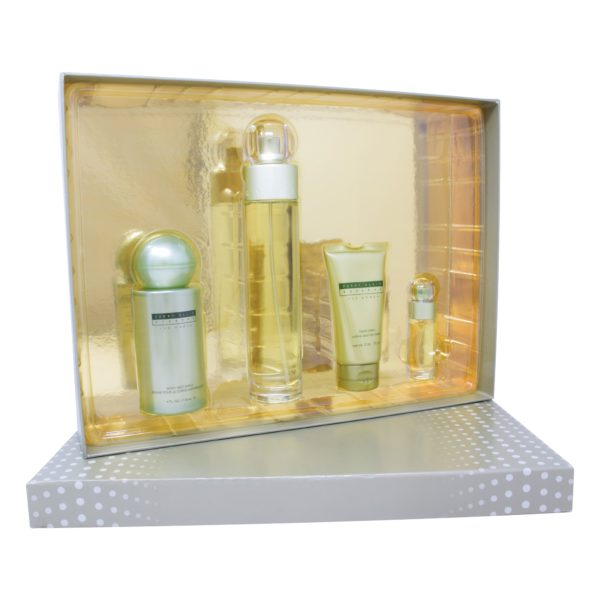 Z4 SET RESERVE WOMEN 4PZS 100ML EDP SPRAY/ HAND CREAM 57G/ BODY MIST 118ML/ 7.5ML EDP SPRAY
