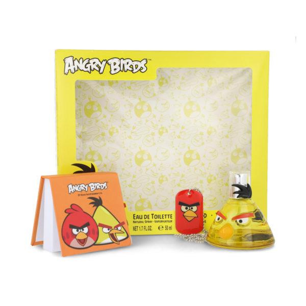 SET ANGRY BIRDS YELLOW BIRS 3 PZS