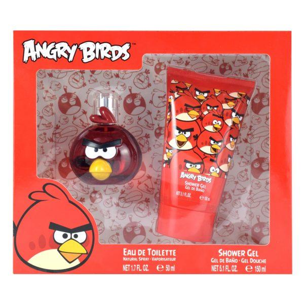 Z4 SET ANGRY BIRDS ROJO 3D 2 PZS