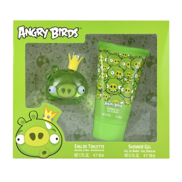 Z4 SET ANGRY BIRDS KING PIG 2 PZS