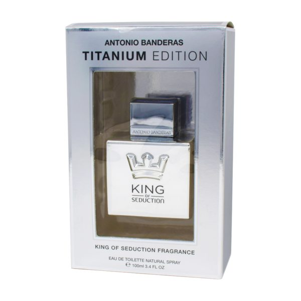 ANTONIO BANDERAS TITANIUM 100 ML EDT SPRAY