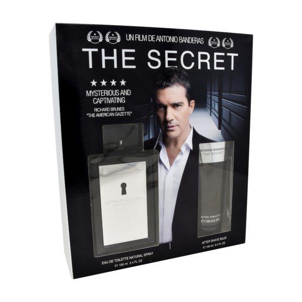 Z4 SET THE SECRET 2PZS 100ML EDT SPRAY/ AFTER SHAVE 100ML
