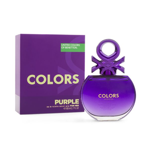 COLORS PURPLE 80 ML EDT SPRAY