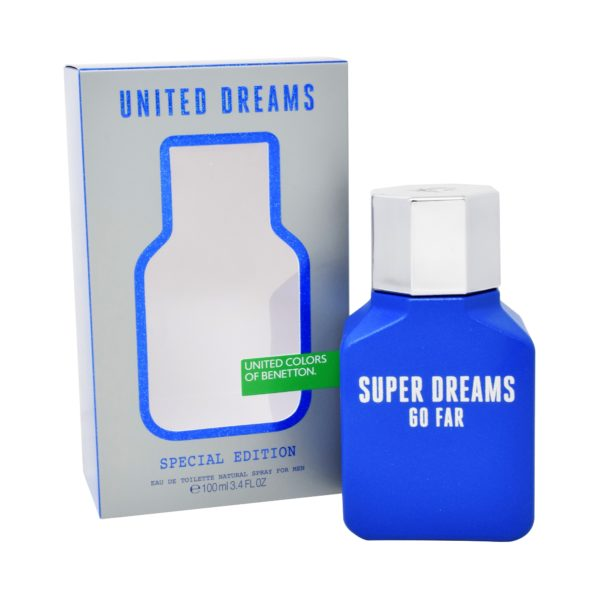 BENETTON SUPER DREAMS GO FAR 100 ML EDT SPRAY
