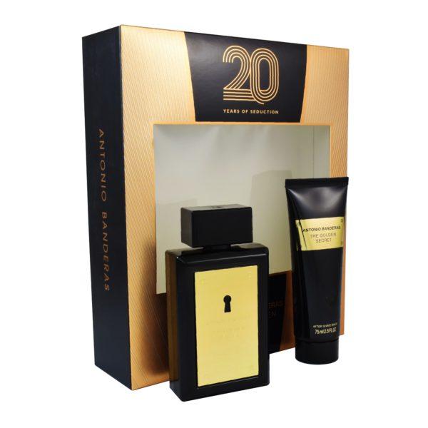 Z4 SET THE GOLDEN SECRET 20 YEARS 2PZS 100ML EDT SPRAY/ AFTER SHAVE 75ML