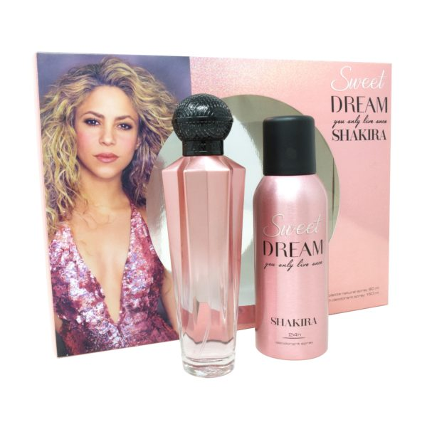 Z4 SET SHAKIRA SWEET DREAM 2PZS 80ML EDT SPRAY/ DESODORANTE 150ML SPRAY