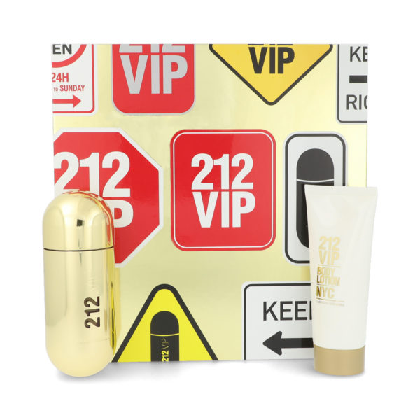 Z4 SET 212 VIP 2PZS 80ML EDP SPRAY/ BODY LOTION 100ML