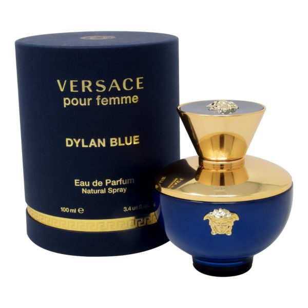 VERSACE DYLAN BLUE POUR FEMME 100 ML EDP SPRAY