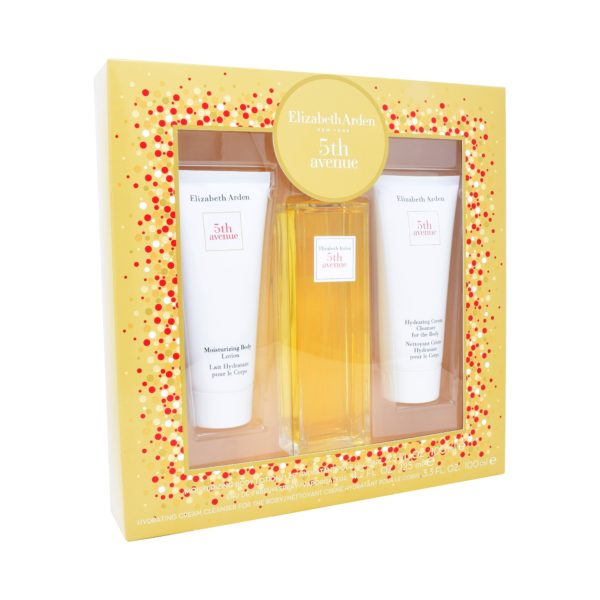 Z4 SET 5TH AVENUE 3PZS 125ML EDP SPRAY/ BODY LOTION 100ML/ BODY HYDRATANT 100ML