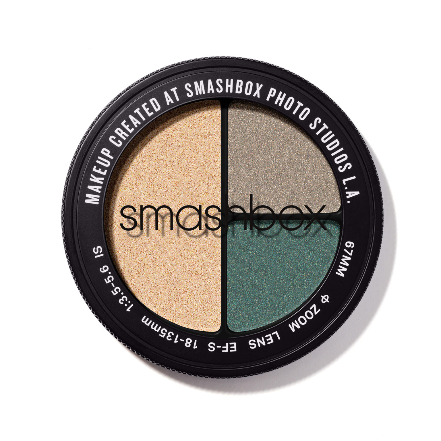 Z8 SOMBRAS PARA OJOS PHOTO EDIT EYE SHADOW TRIO DAYRATE 3.2 G