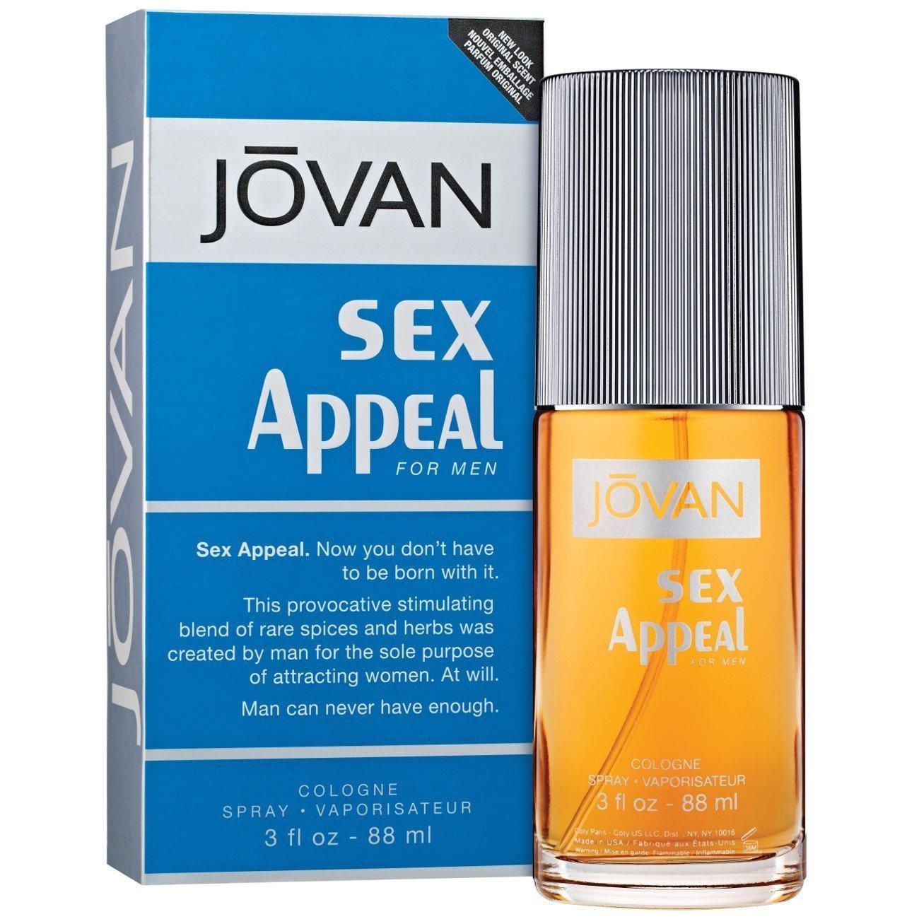 Perfume Jovan Sex Appeal Cologne Spray 88ml Spray Caballero